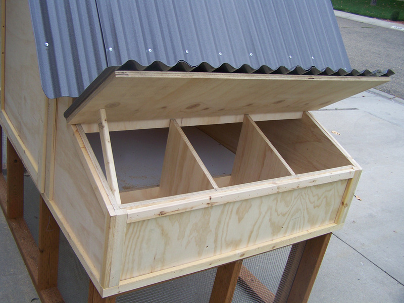 A-Frame Nesting Boxes